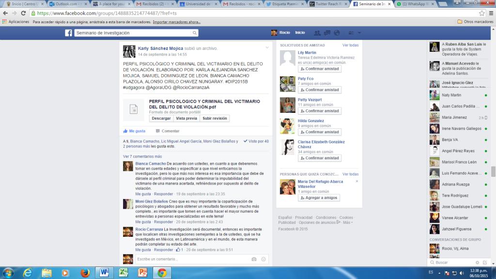 Ejemplo Facebook