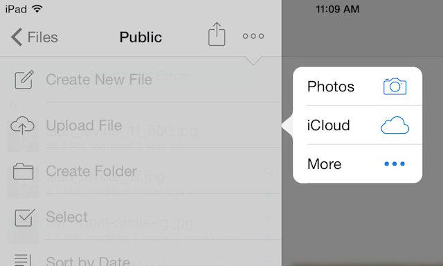 Public Folder App For Iphone